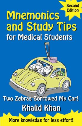 Mnemonics and Study Tips for Medical Students: Two Zebras Borrowed My Car