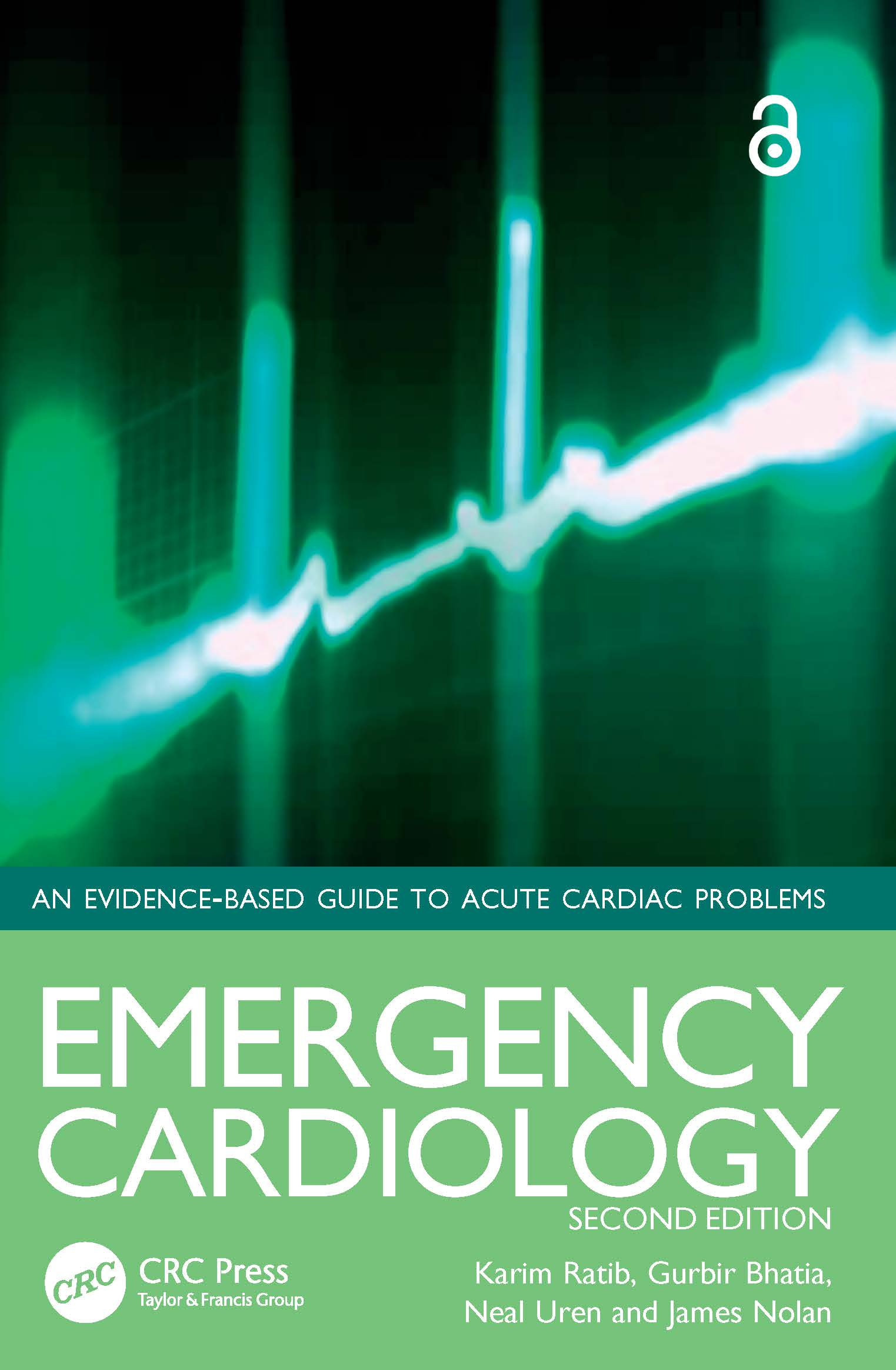 Emergency Cardiology: 2nd Edition (Paperback) book cover