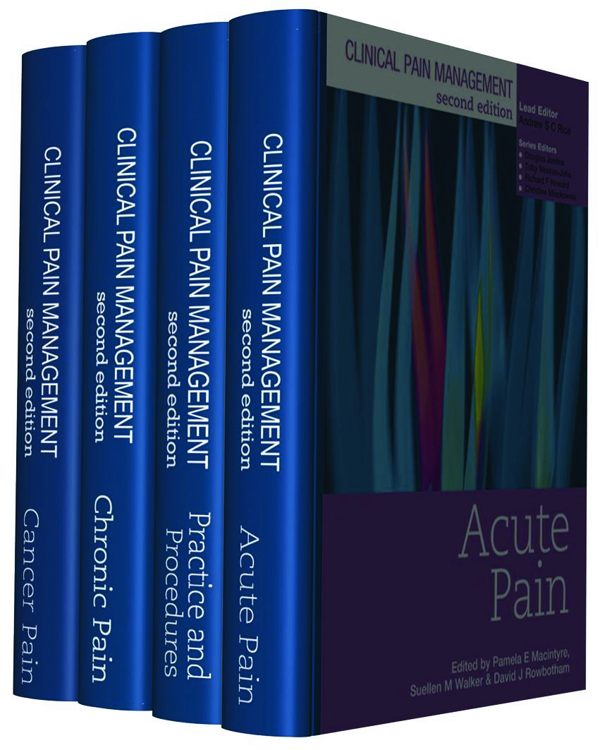 Clinical Pain Management Second Edition: 4 Volume Set: 2nd Edition (Hardback) book cover