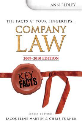 Key Facts: Company Law