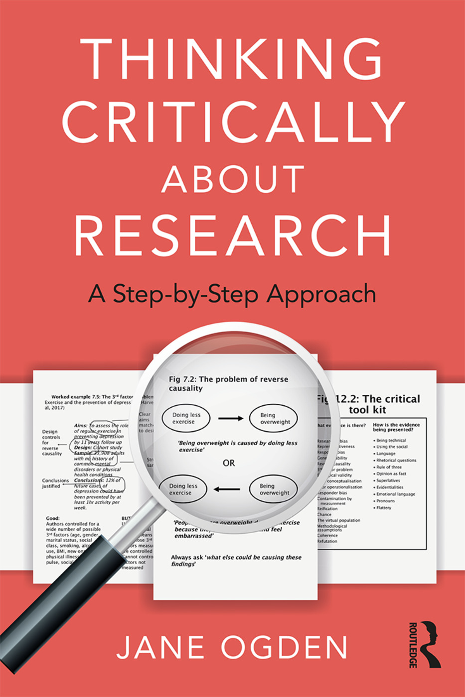 Thinking Critically about Research: A Step by Step Approach book cover