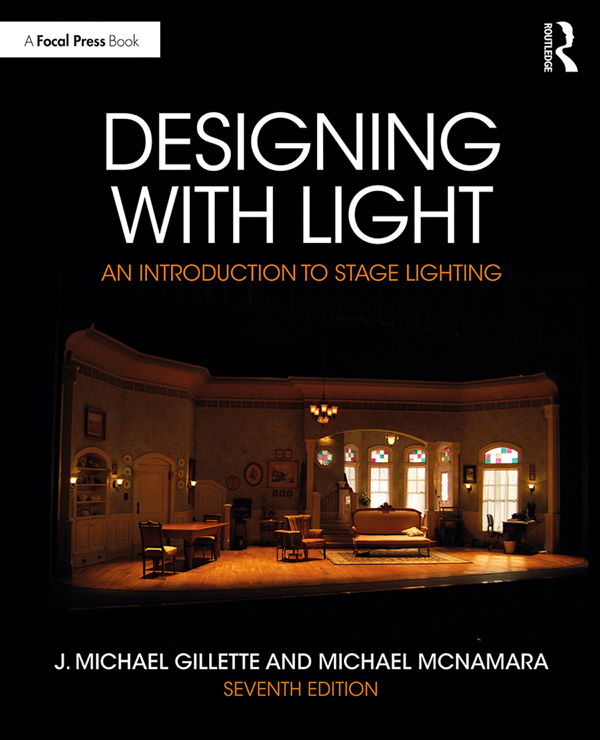 Designing with Light: An introduction to Stage Lighting book cover