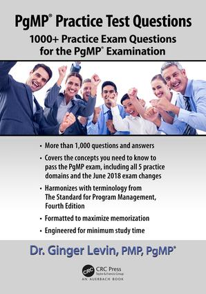 PgMP® Practice Test Questions: 1000+ Practice Exam Questions for the PgMP® Examination book cover