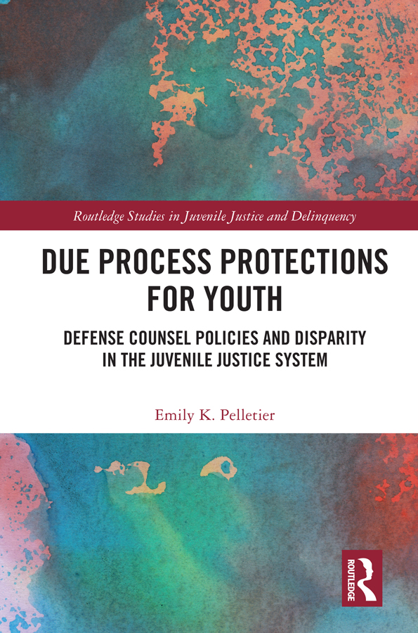 Due Process Protections for Youth: Defense Counsel Policies and Disparity in the Juvenile Justice System book cover