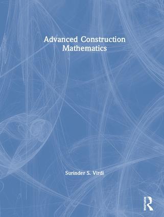 Advanced Construction Mathematics book cover