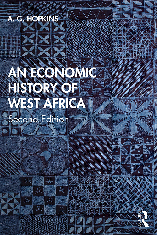 An Economic History of West Africa: 2nd Edition (Paperback) book cover