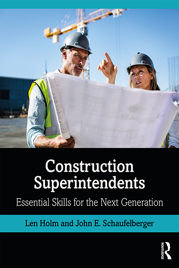 Construction Superintendents: Essential Skills for the Next Generation book cover
