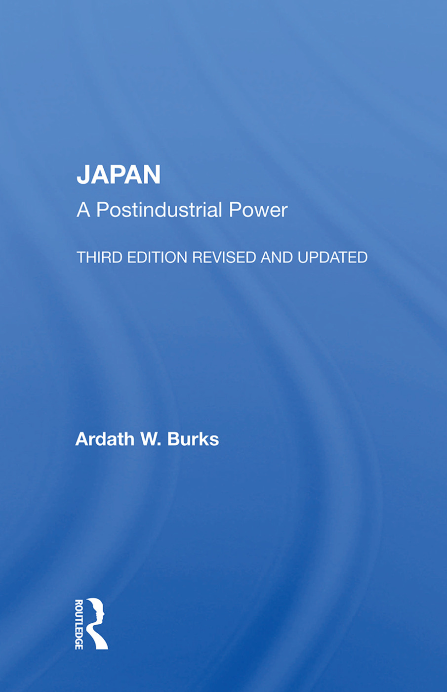 Japan: A Postindustrial Power--third Edition, Revised And Updated, 3rd Edition (Paperback) book cover