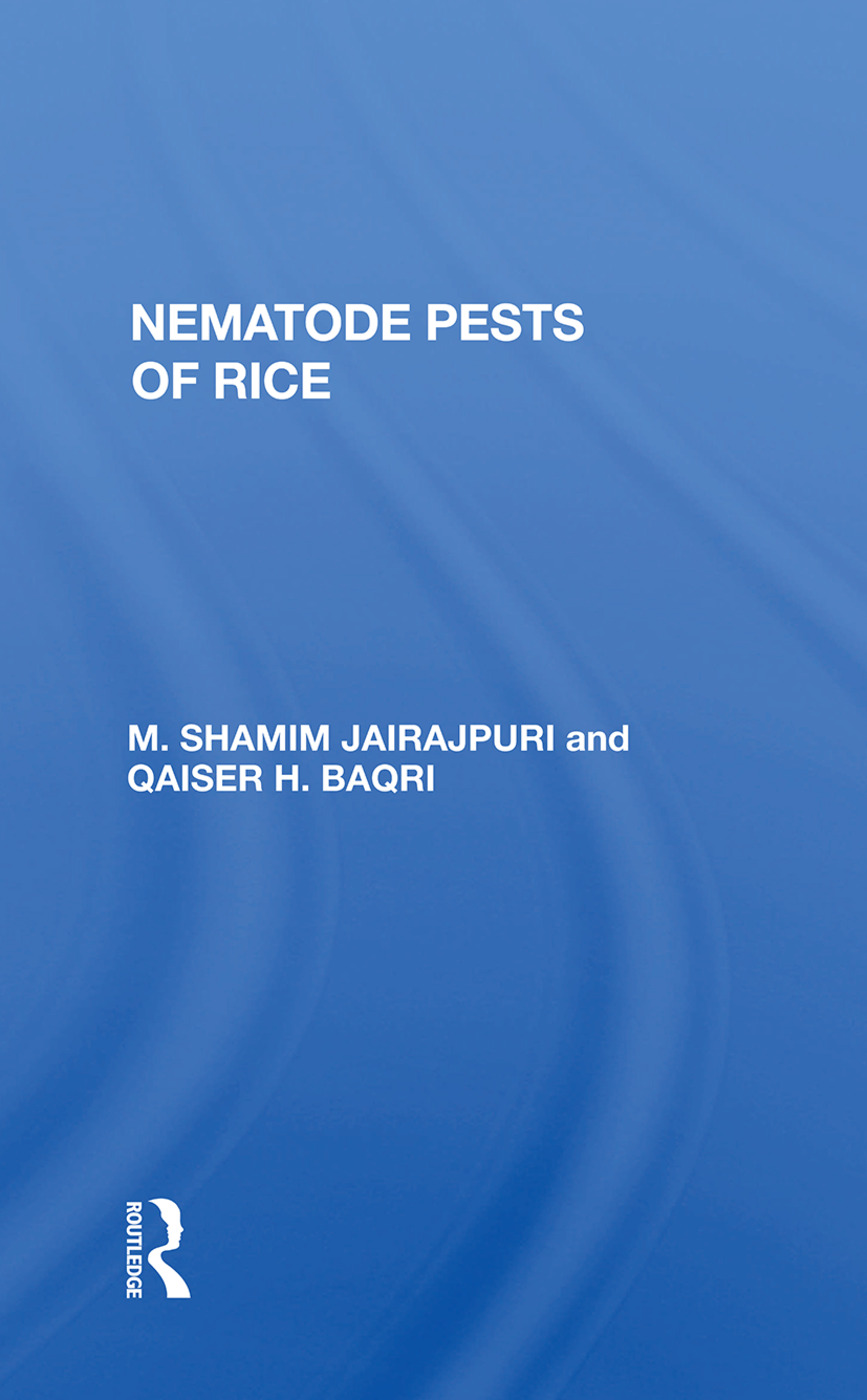 Nematode Pests Of Rice: 1st Edition (Paperback) book cover