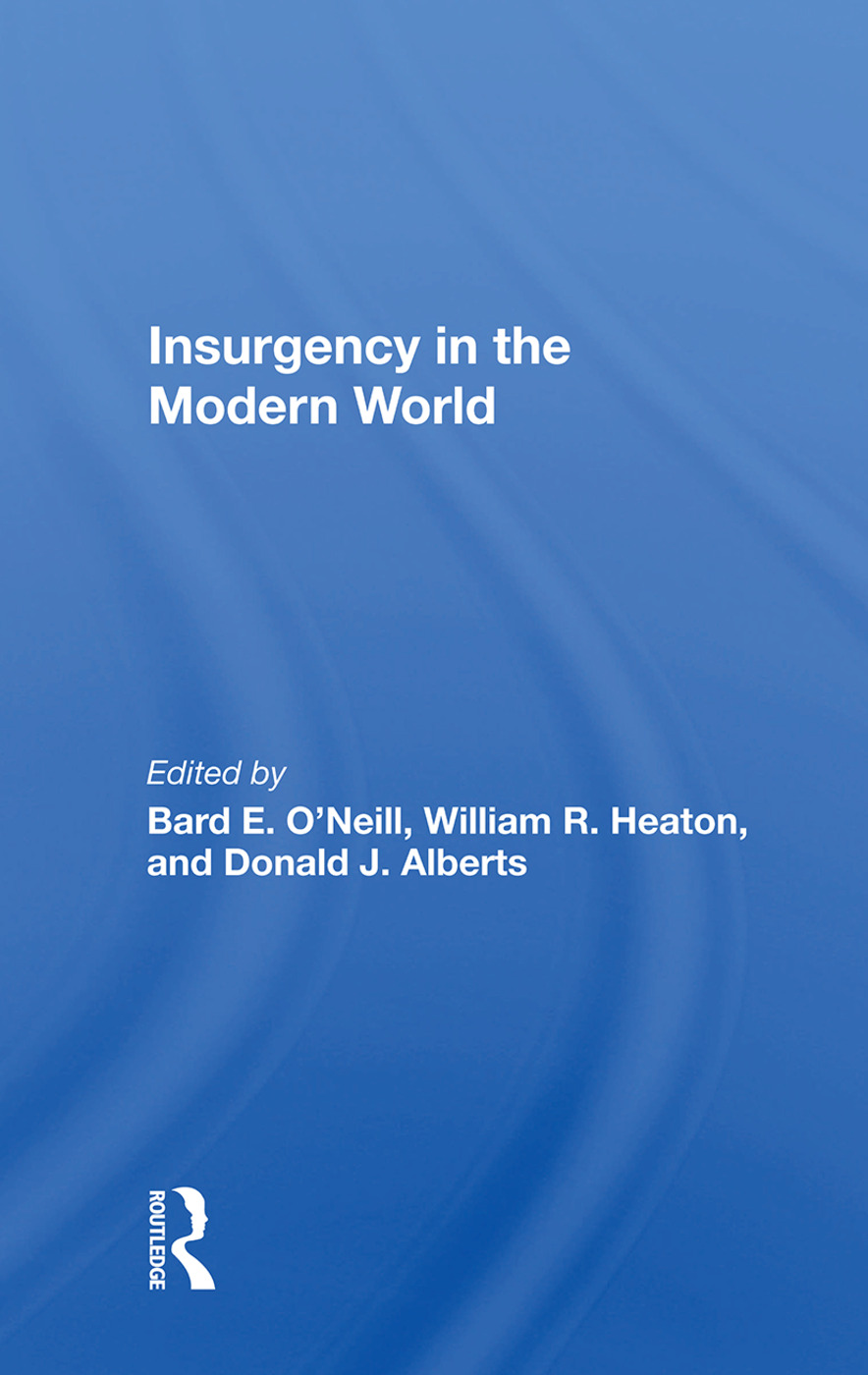 Insurgency In The Modern World book cover