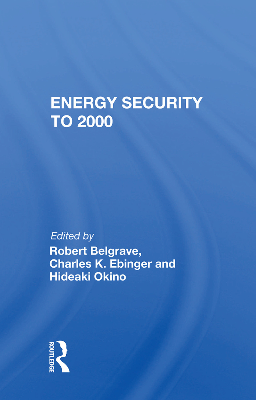 Energy Security To 2000: 1st Edition (e-Book) book cover
