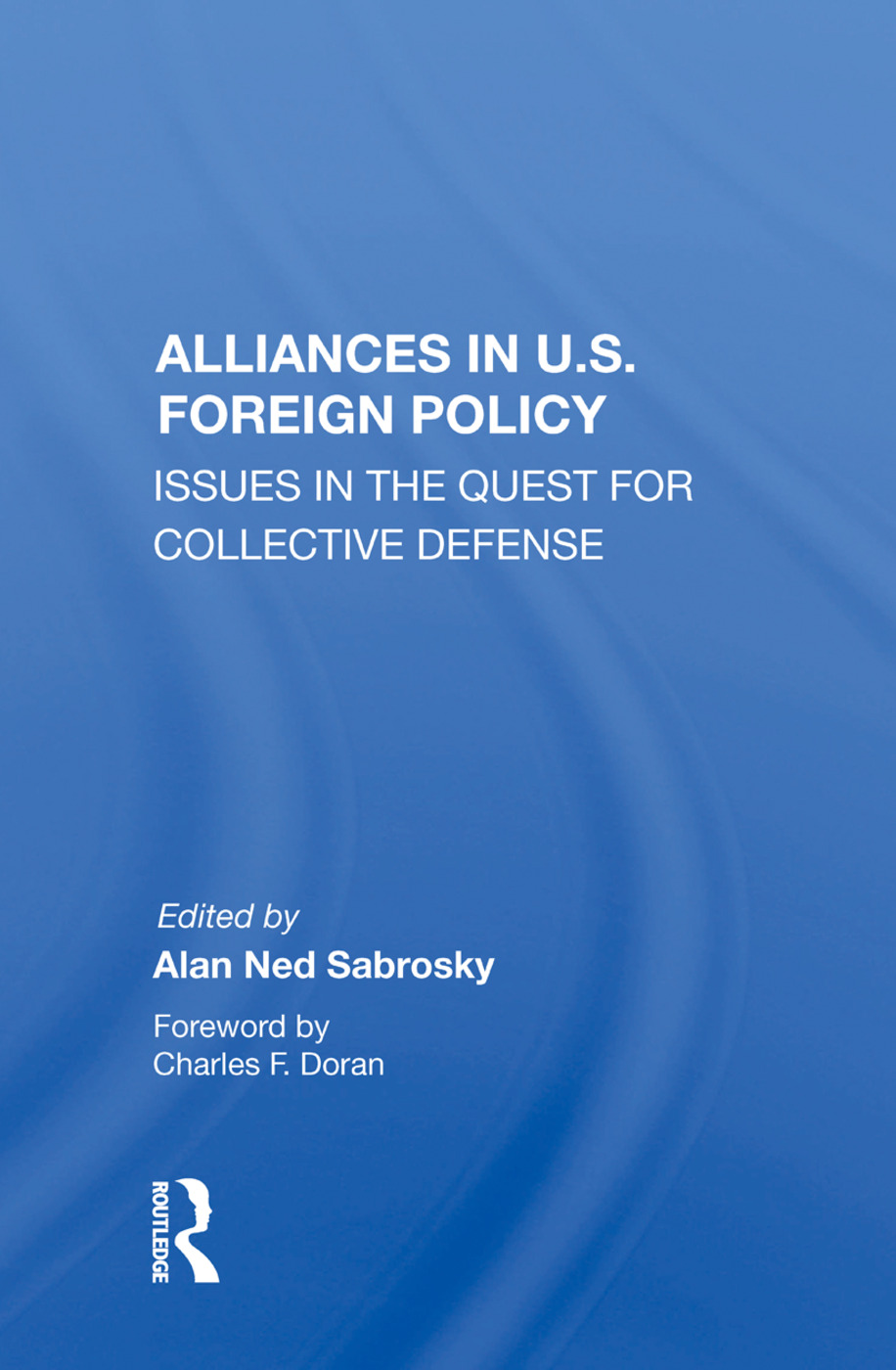 Alliances in U.S. Foreign Policy
