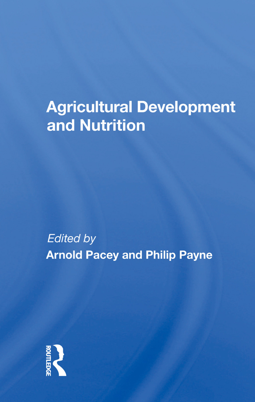 Agricultural Development And Nutrition book cover