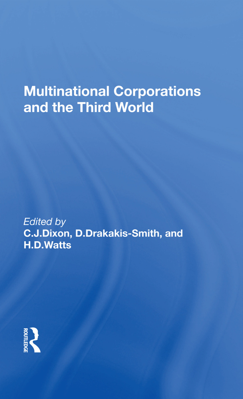 Multinational Corporations And The Third World book cover