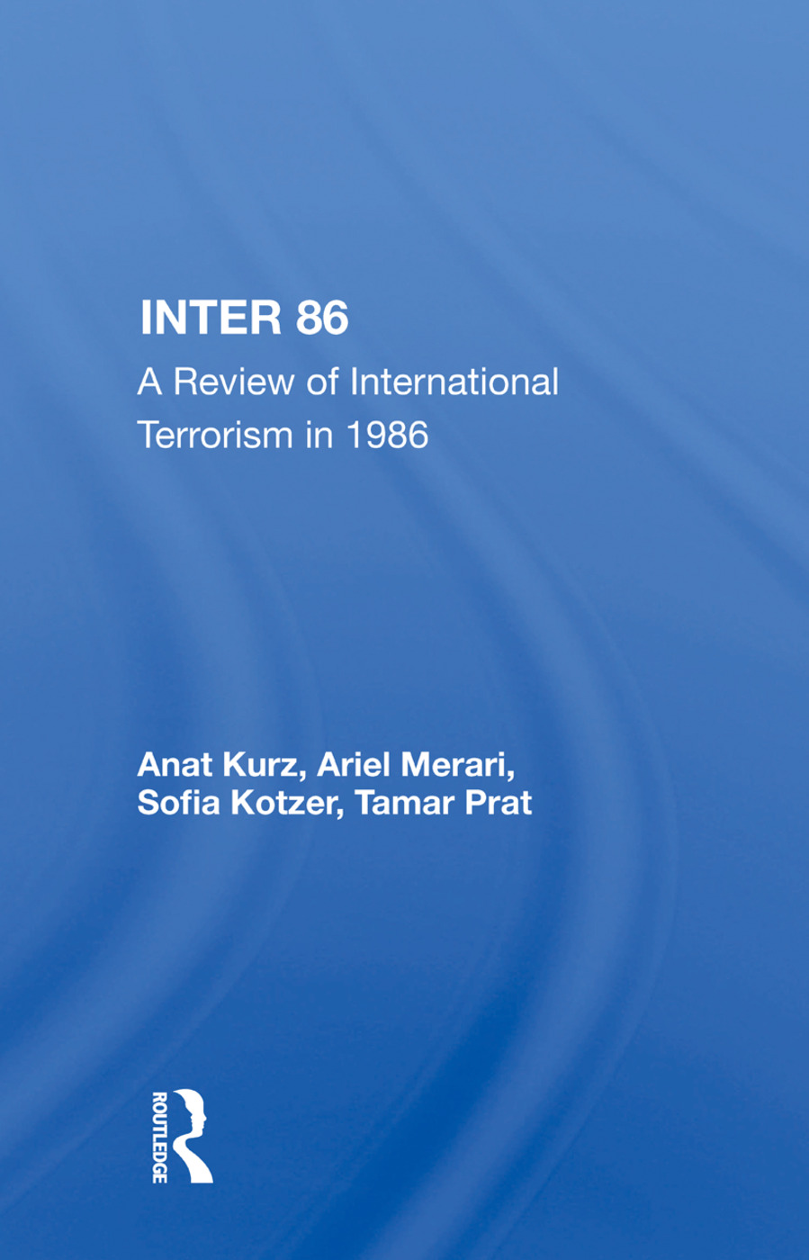 Inter 86: A Review Of International Terrorism In 1986, 1st Edition (Paperback) book cover
