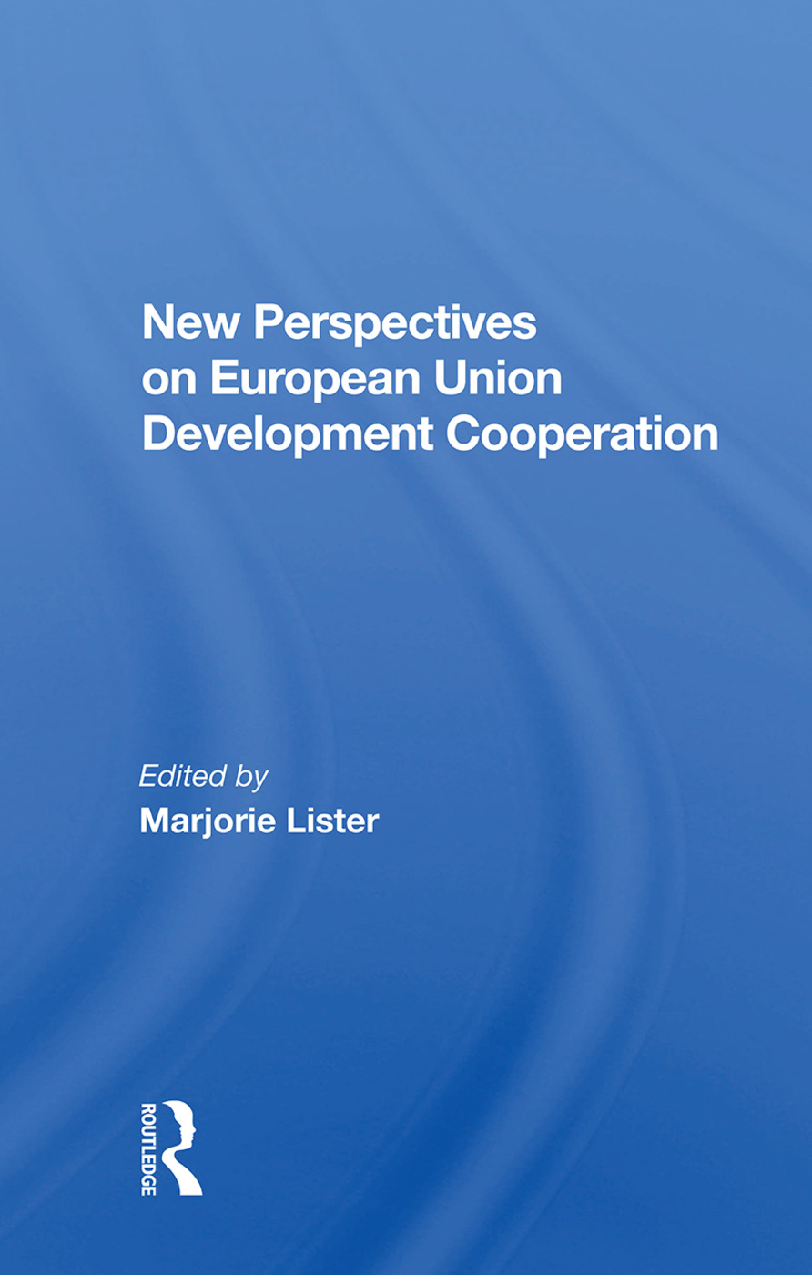 New Perspectives On European Development Cooperation book cover