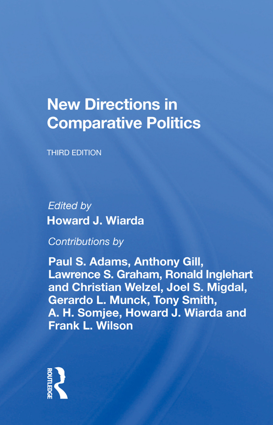 New Directions In Comparative Politics, Third Edition: 1st Edition (Paperback) book cover