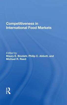 Competitiveness In International Food Markets: 1st Edition (Paperback) book cover