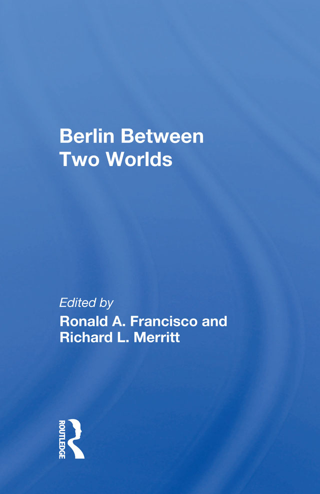 Berlin Between Two Worlds book cover