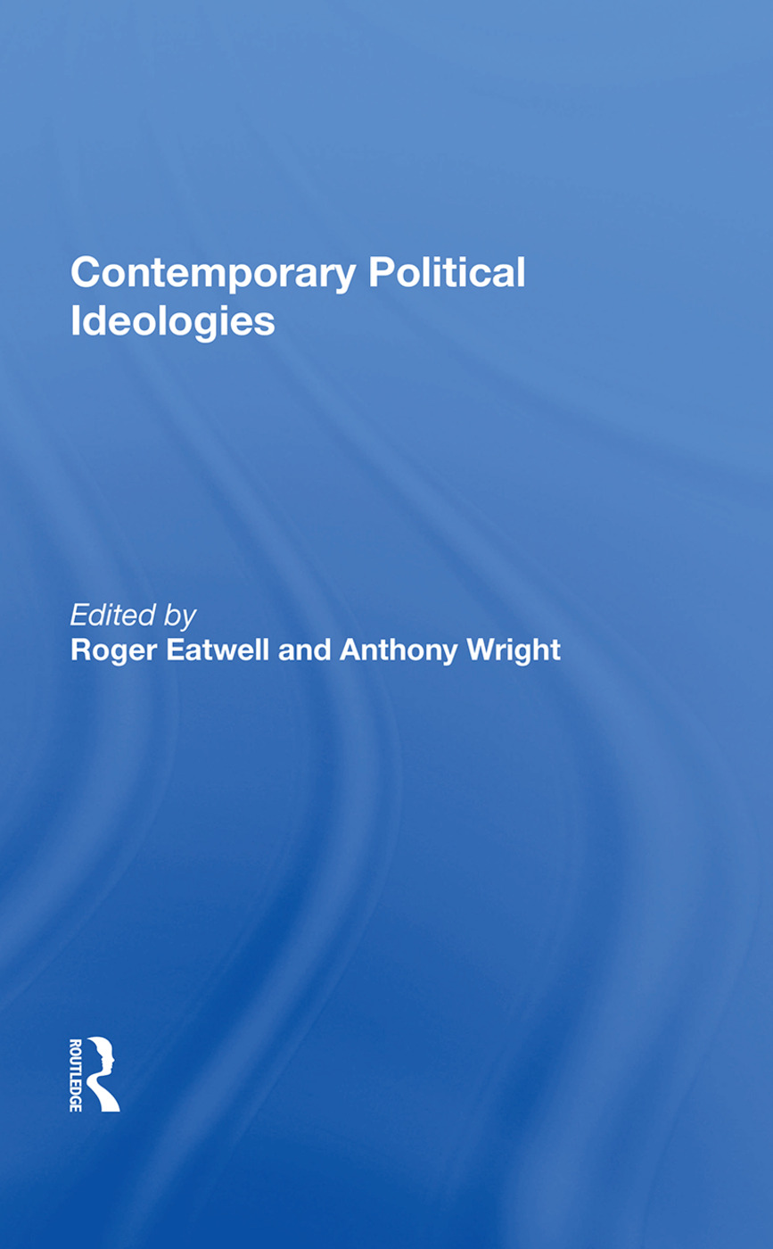 Contemporary Political Ideologies: 1st Edition (Hardback) book cover