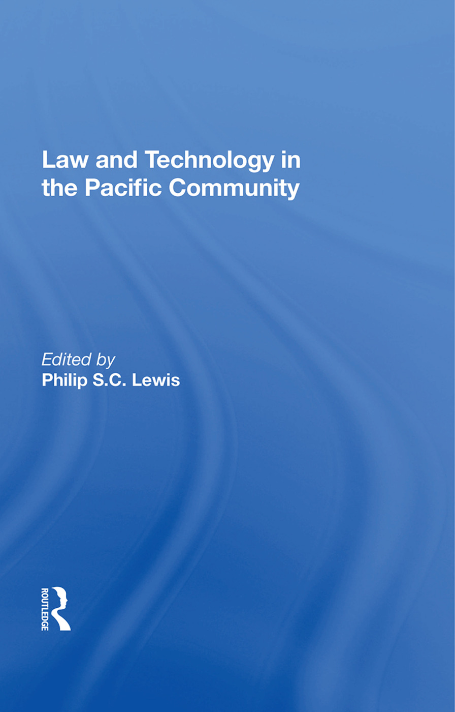 Law And Technology In The Pacific Community book cover