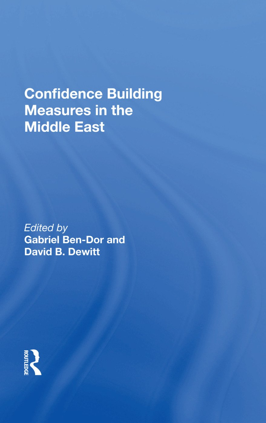 Confidence Building Measures In The Middle East: 1st Edition (Hardback) book cover