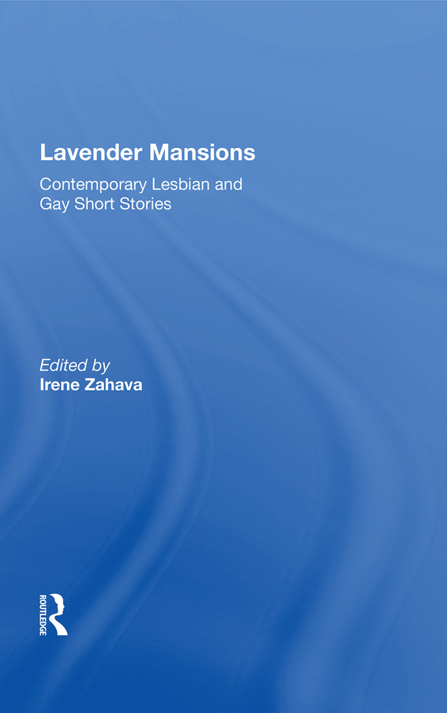 Lavender Mansions: 40 Contemporary Lesbian And Gay Short Stories, 1st Edition (Paperback) book cover