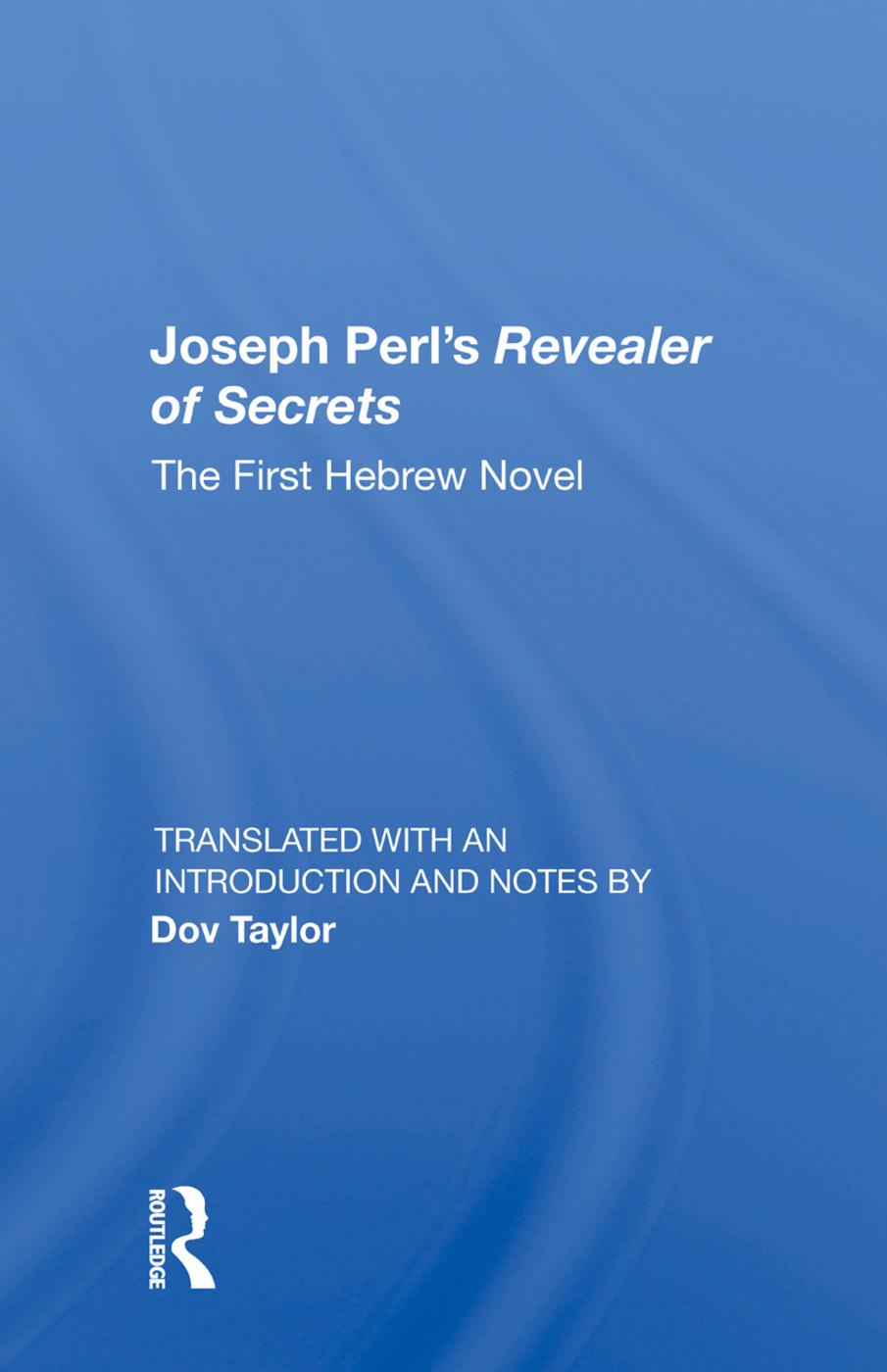 Joseph Perl's Revealer of Secrets