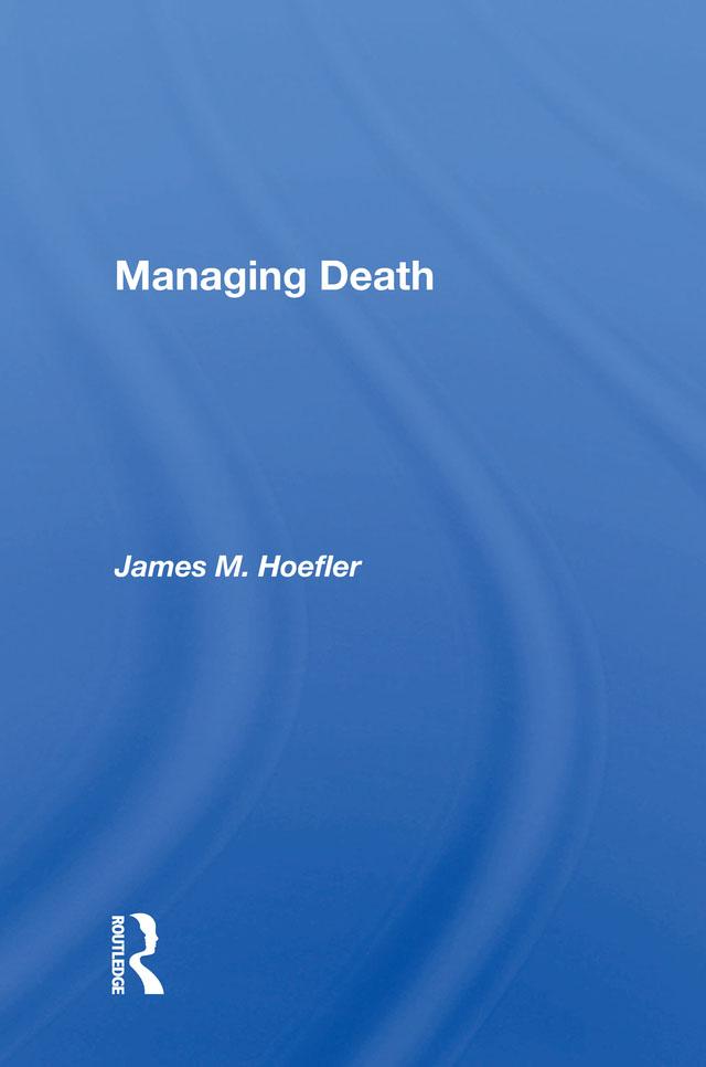 Managing Death book cover