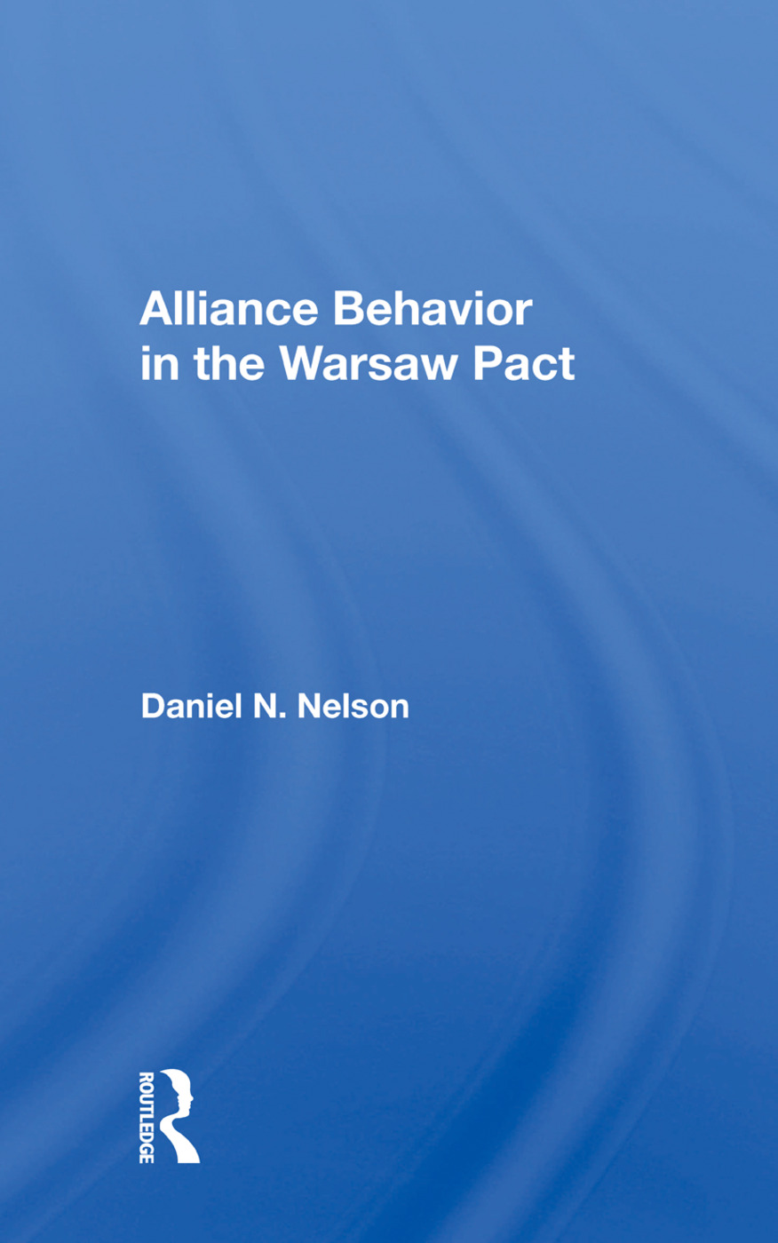 Alliance Behavior in the Warsaw Pact