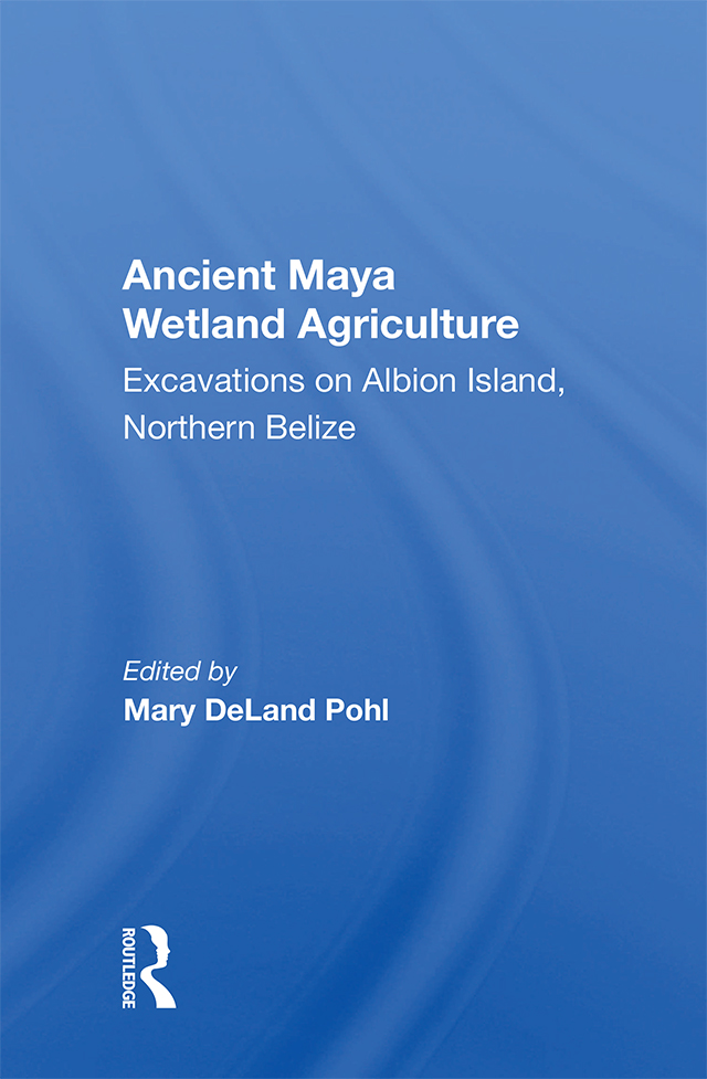 Ancient Maya Wetland Agriculture: Excavations On Albion Island, Northern Belize book cover