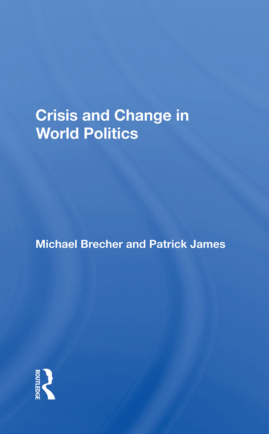Crisis And Change In World Politics book cover