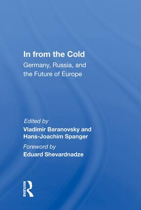 In From The Cold: Germany, Russia, And The Future Of Europe book cover
