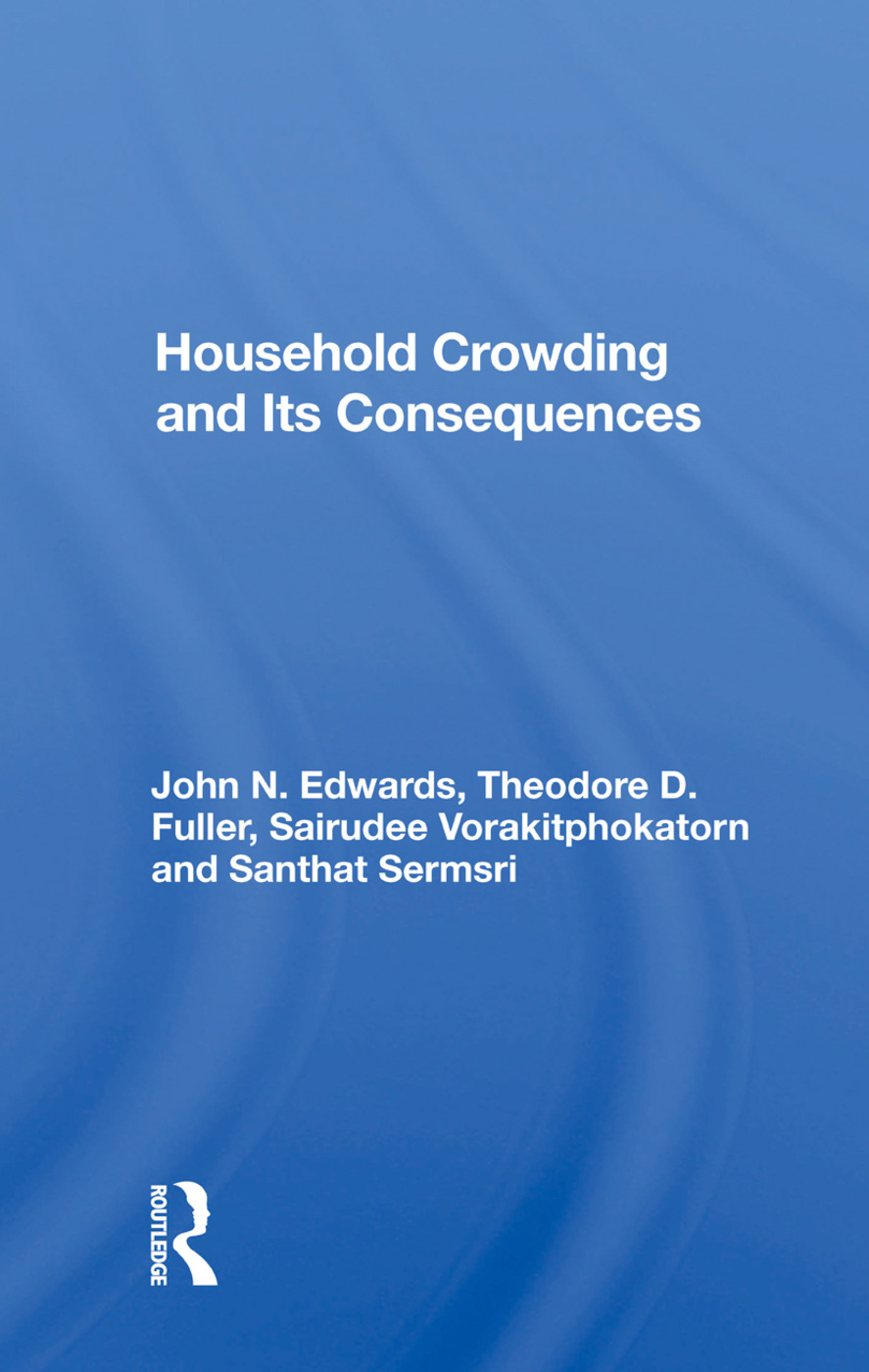 Household Crowding And Its Consequences: 1st Edition (Paperback) book cover