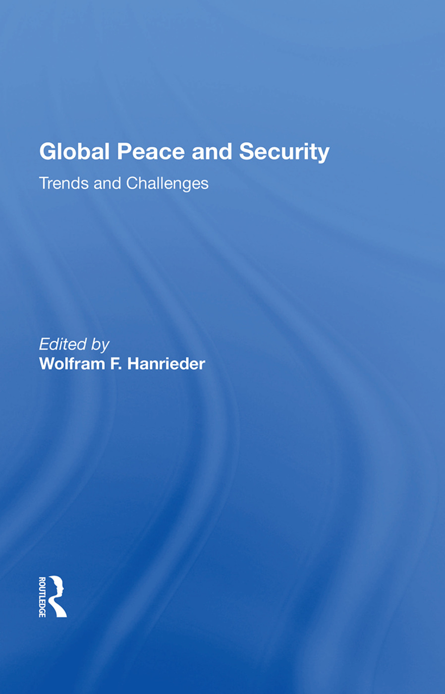 Global Peace And Security: Trends And Challenges, 1st Edition (Hardback) book cover