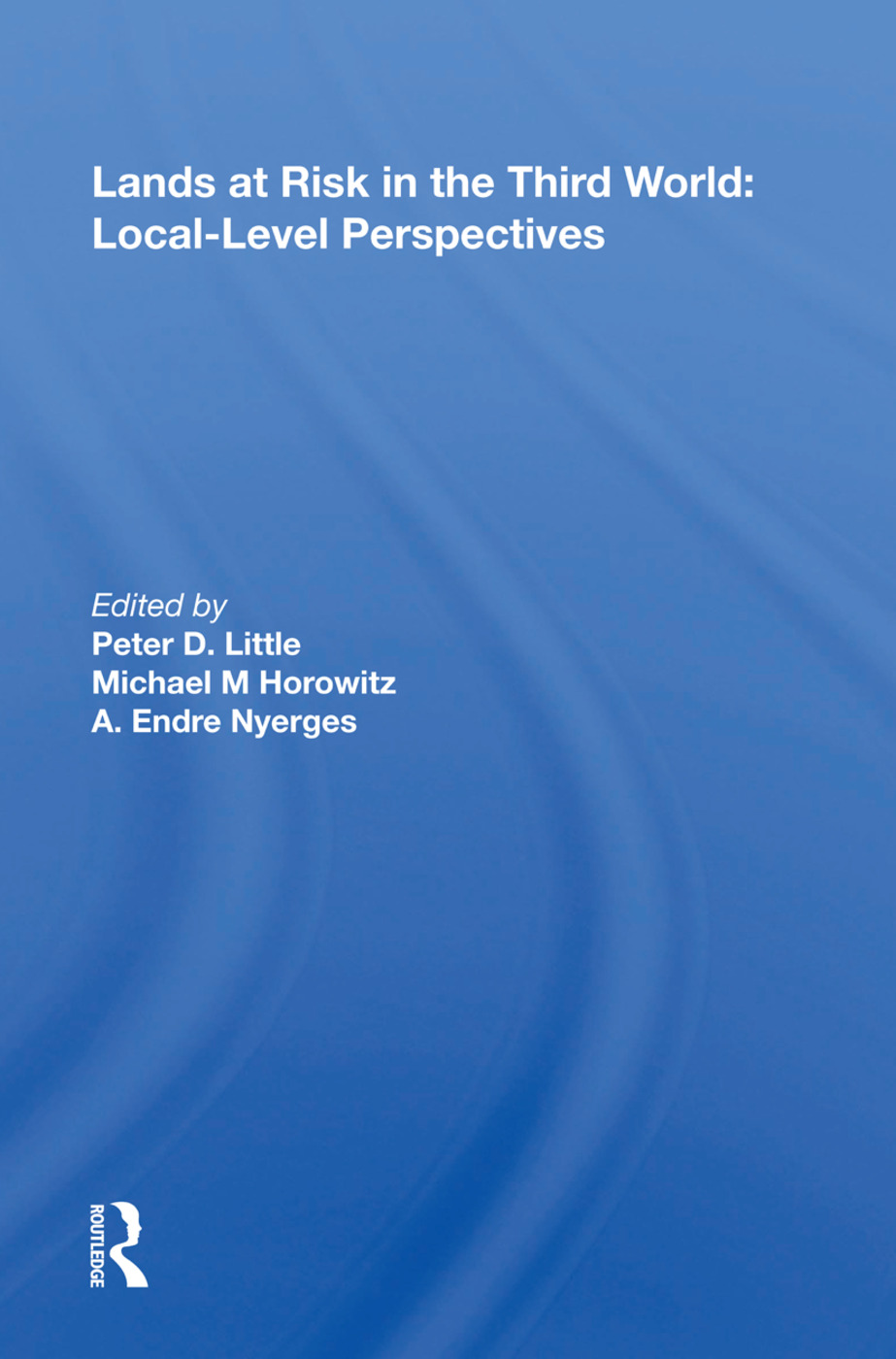 Lands At Risk In The Third World: Local-level Perspectives book cover