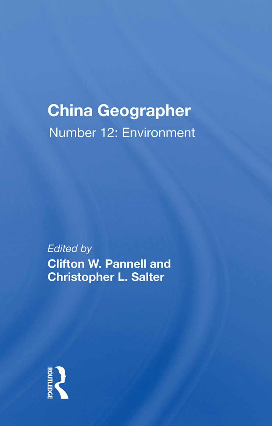 China Geographer