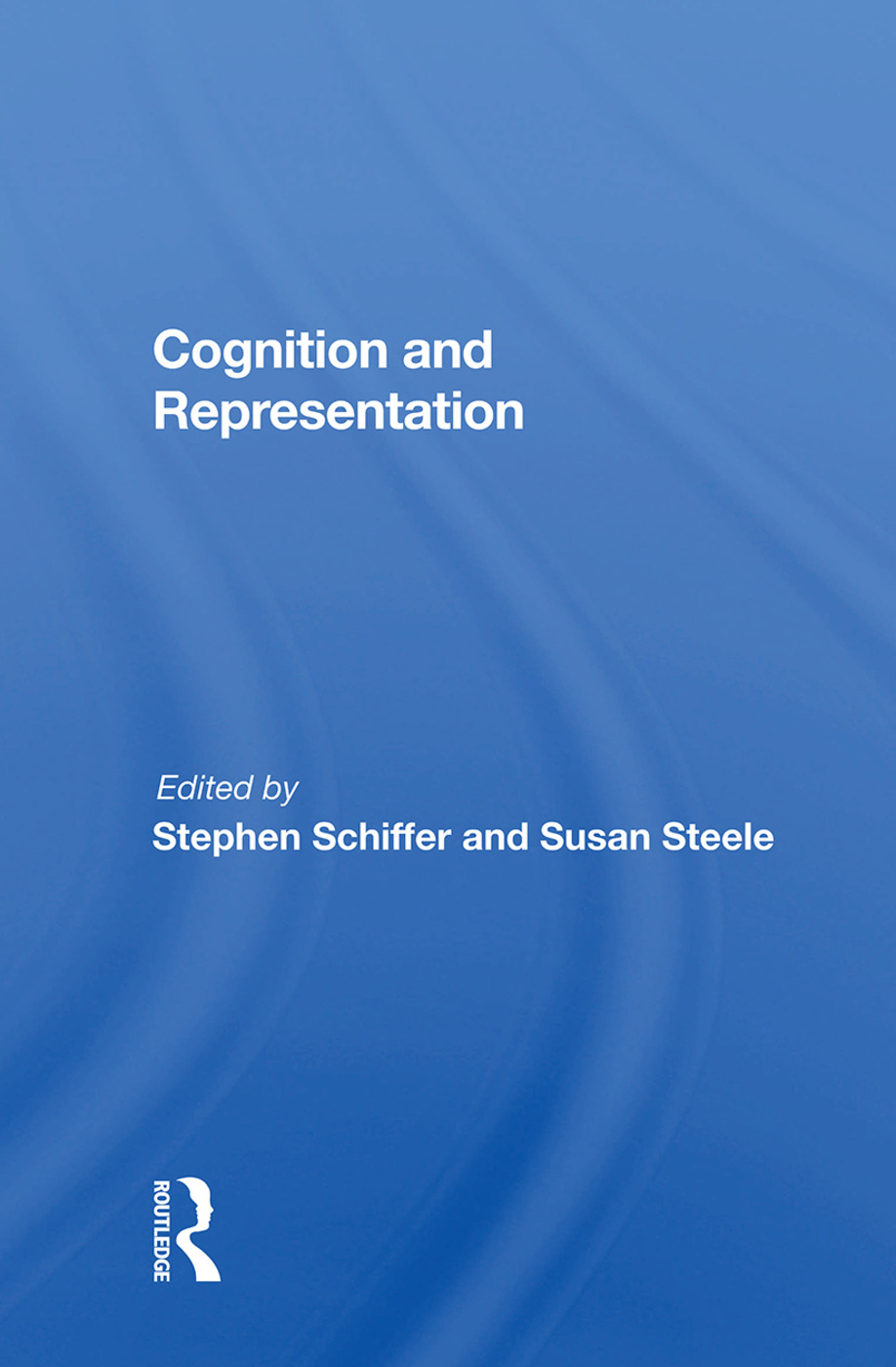 Cognition And Representation book cover