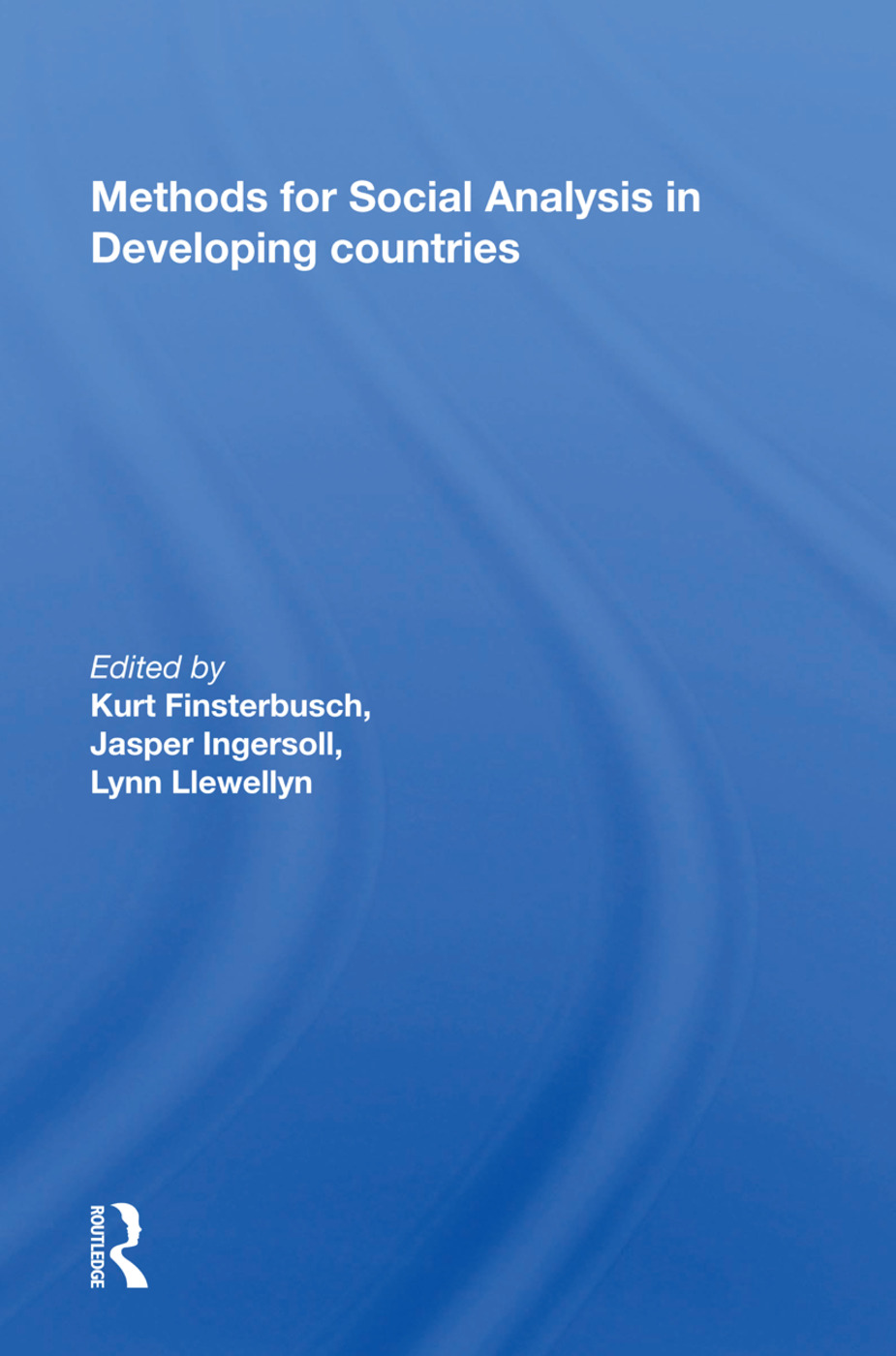 Methods for Social Analysis in Developing Countries: 1st Edition (Hardback) book cover