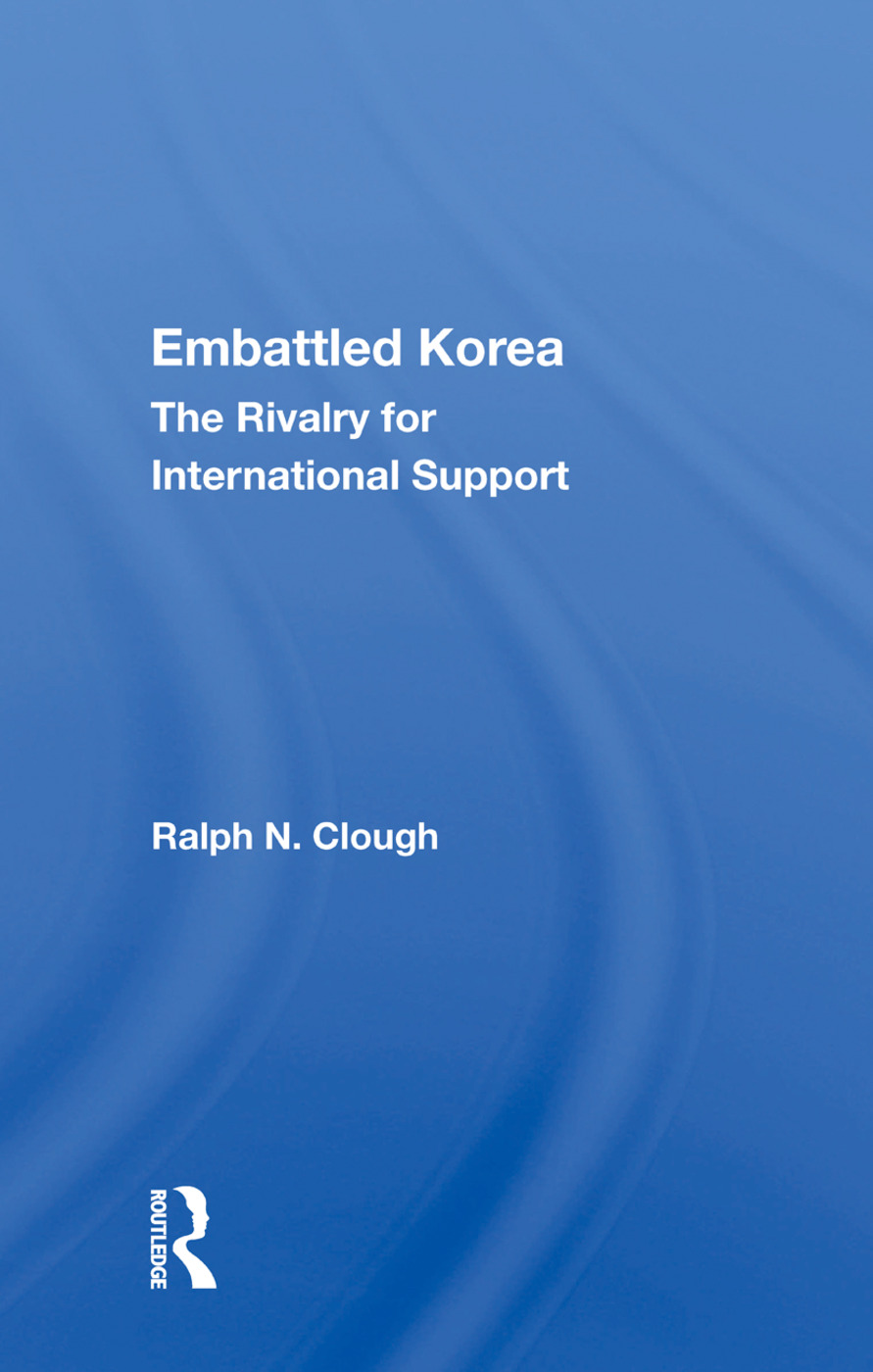Embattled Korea: The Rivalry for International Support book cover