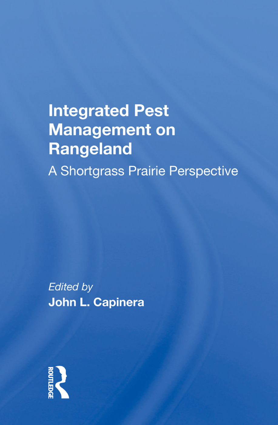 Integrated Pest Management On Rangeland: A Shortgrass Prairie Perspective book cover