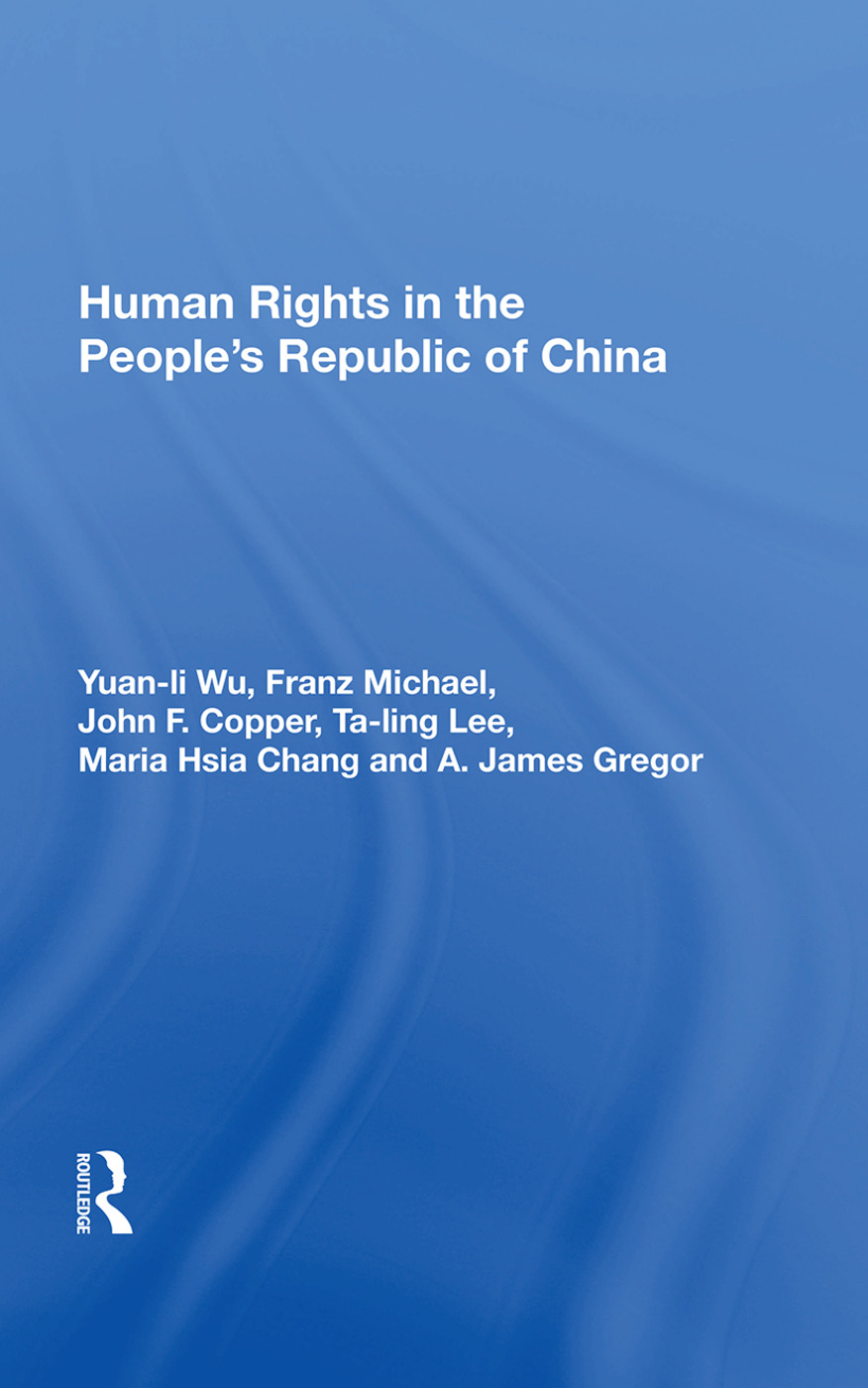 Human Rights in the People's Republic of China