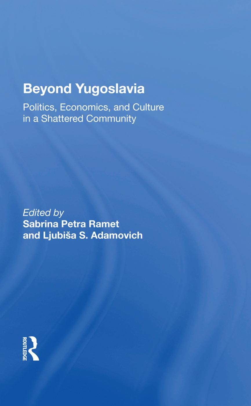 Beyond Yugoslavia: