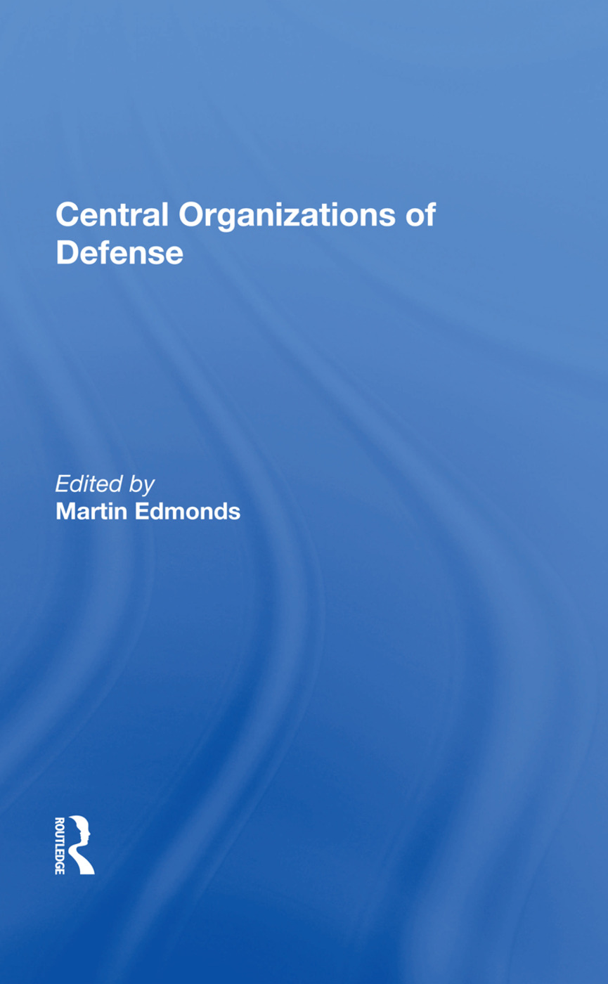Central Organizations Of Defense book cover