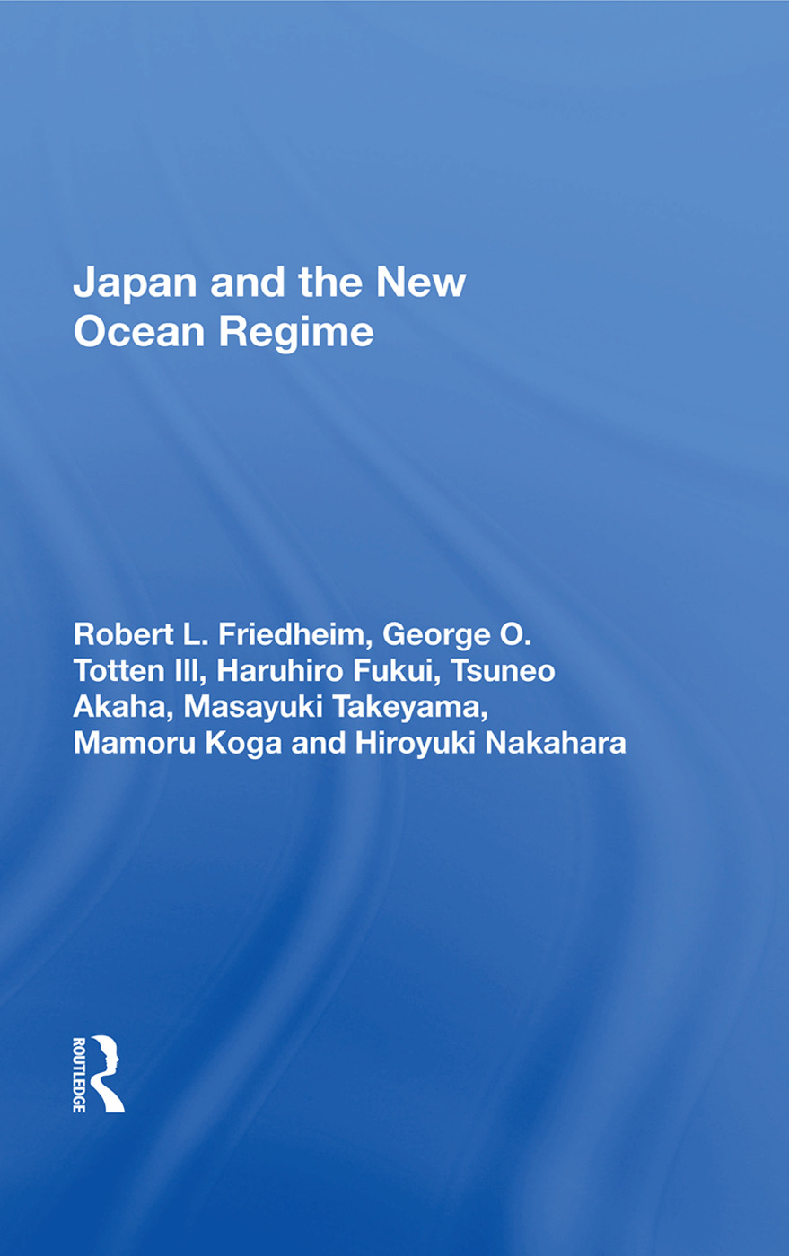 Japan and the New Ocean Regime: 1st Edition (Hardback) book cover