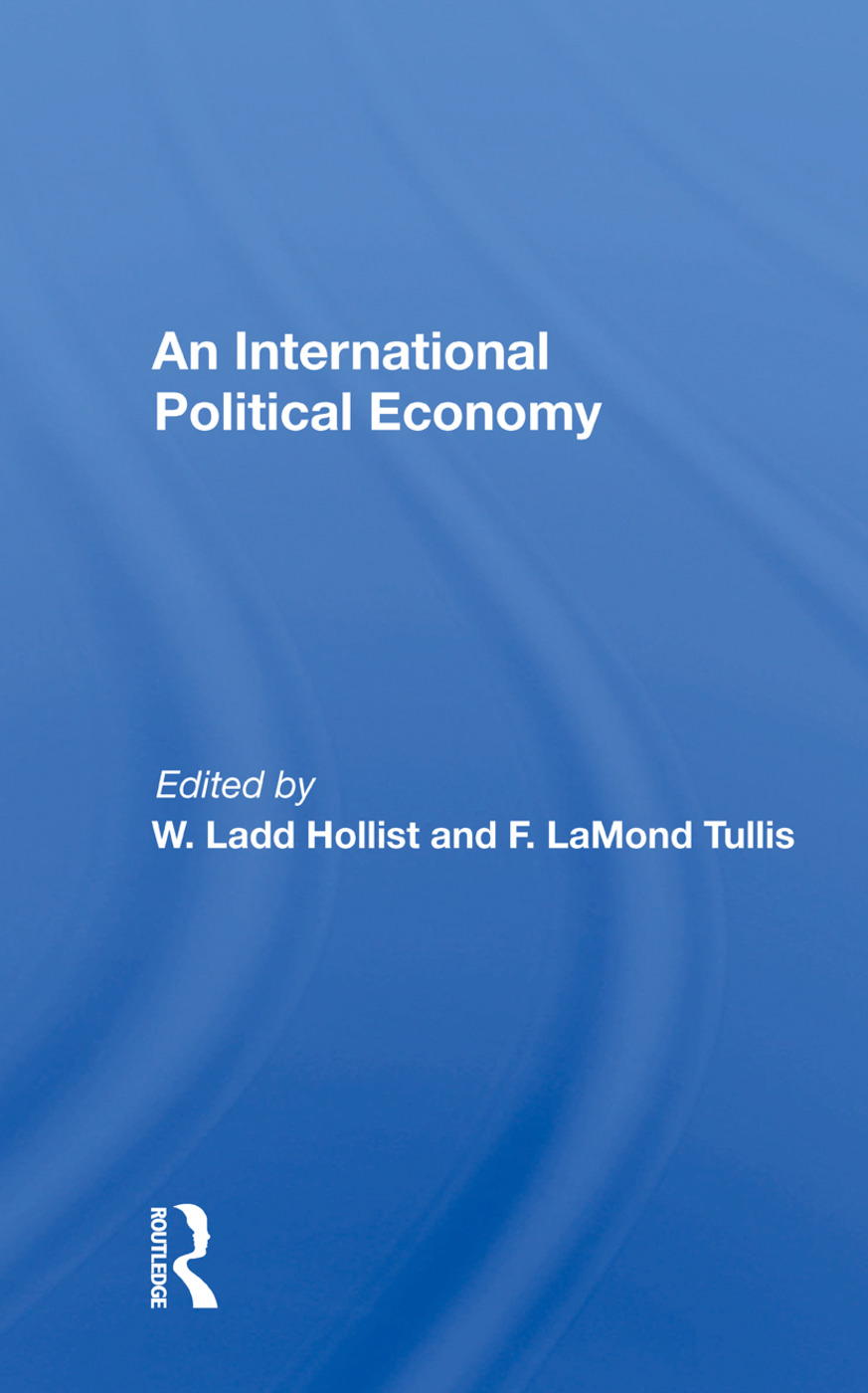 An International Political Economy: 1st Edition (Hardback) book cover