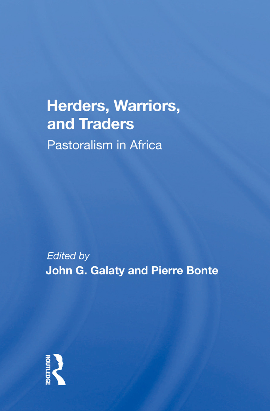 Herders, Warriors, And Traders: Pastoralism In Africa, 1st Edition (Paperback) book cover