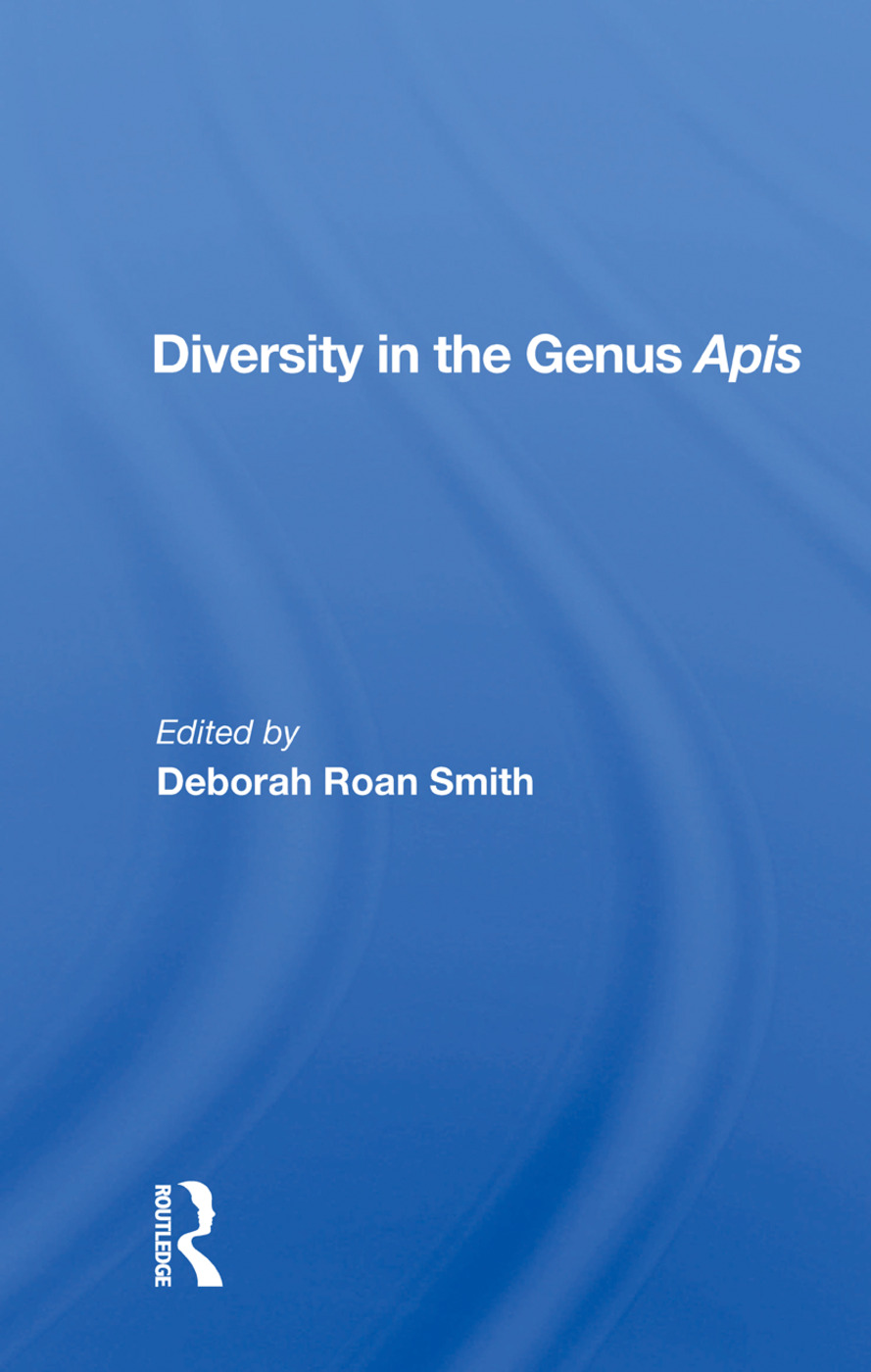 Diversity In The Genus Apis: 1st Edition (Paperback) book cover