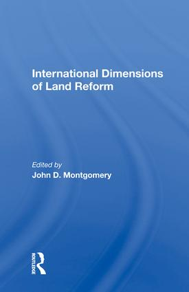 Ethical Dimensions of International Involvement in Land Reform