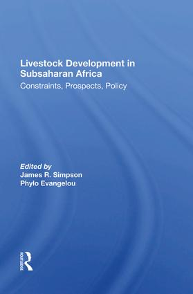 Impact of Government Policies on the Performance of the Livestock-Meat Subsector